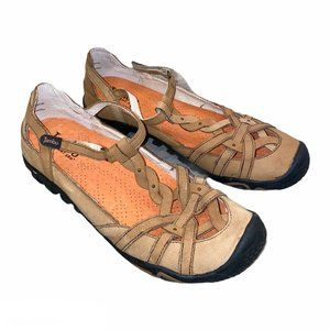 Jambu Xterra Air Vent 360 Flat T Strap Sandals, 8